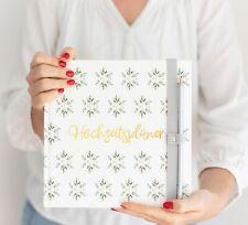 Hochzeitsplaner Wedding Planner - deutsch Hochzeitscheckliste Verlobungsgeschenk