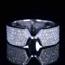 Sterling Silver 925 CZ STONE  Engagement & Wedding Solitaire Fashion Ring Band