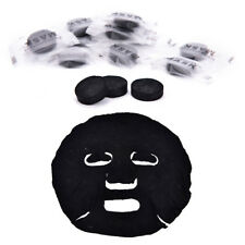 20X Compressed Mask Paper Facial Natural Bamboo Charcoal Mask Paper Face CareH&T