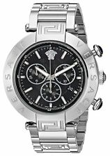 Versace Men's VQZ060015 REVE Date Chronograph Silver Stainless Steel Watch