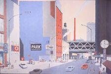 Affiche Offset Avril New-York 6424 Park Christian Desbois Editions