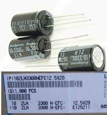 20pcs 3300uf 10v Electrolytic Capacitor 10v3300uf Rubycon High quality Japan cap