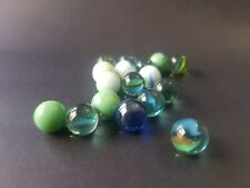 Ally Classic Retro Glass Kids Toys Game White Cosmics Awesome Ally/'s Marbles