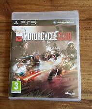 MOTORCYCLE CLUB Jeu Sur Sony PS3 Playstation 3 Neuf Sous Blister VF