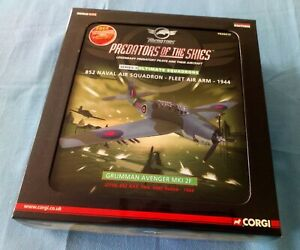 CORGI® PR99415 Ltd Edt N° 3110/3110 Grumman Avenger MKI 2F Predators of the Skie