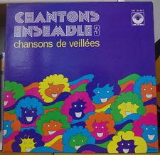 JEAN HUMENRY/L'EQUIPAGE  CHANTONS ENSEMBLE 3 FRENCH LP ARC EN CIEL 1975