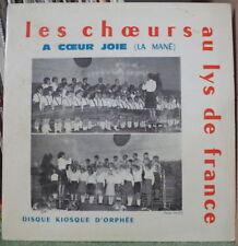 LES CHOEURS AU LYS DE FRANCE/LEO FERRE TIRAGE LIMITE LE KIOSQUE D'ORPHEE 1966