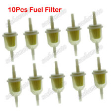 10x Inline Gas Filter For Briggs & Stratton 493629 AM116304 49019-7001 6MM 8MM