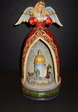 Jim Shore ~ Collectibles ~ Musical Angel ~ Rotating Nativity - Retired ~ 2006