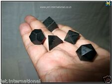 A+ Tourmaline Sacred Geometry 5 Stone Set Platonic Sphere Spiritual Divine Aura