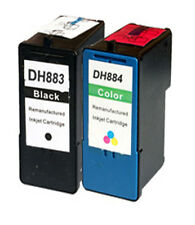 Non-OEM For Dell 968 Ink Cartridges 7 series BlK+Color
