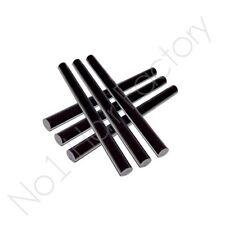 Black 6Pc X Hair Extension Keratin Glue Bond Sticks Uk Each With 10Cm Long