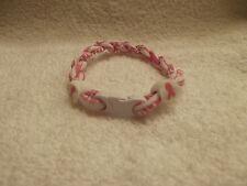 Breast Cancer Titanium Tornado Bracelet  (Small)