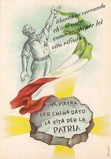 A6443) RESISTENZA, BRIGATA FIAMME VERDI, CA' MARASTONI A TOANO (REGGIO EMILIA).