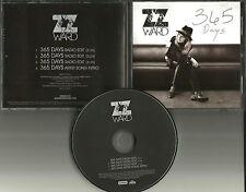 ZZ WARD 365 Days EDIT Repeats 3 times w/ SPOKEN Artist intro PROMO DJ CD single