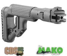 MAKO FAB Rifle Stock Tactical Folding Buttstock Stock Cheek Piece UAS-AKP