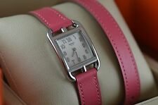 AUTH Hermes CAPE COD PM CC1.210 Double Tour Ladies Watch