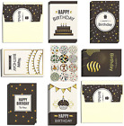 Ideal Home 48 Pack Birthday Cards with Envelopes and Stickers, Mixed Multipack H
