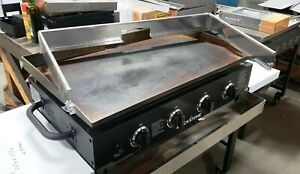 """36"""" Blackstone Griddle windscreen stainless for rear drain"""
