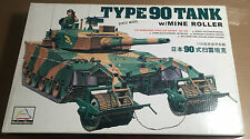 MINI HOBBY MODELS TN-80111 - 1/35 - TYPE 90 TANK w/MINE ROLLER - NUOVO