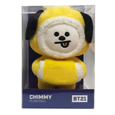 OFFICIAL BT21 CHRISTMAS PLUSH DOLL STANDING DOLL CHIMMY