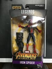 Marvel Legends Avengers Infinity War Iron Spider w/ Thanos Piece NIP VHTF