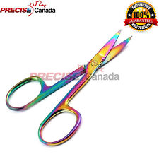 Titanium Facial Hair Scissors, Beard Mustache Nose Hair Trimming