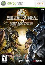 Mortal Kombat Vs Dc Universe Xbox 360 Complete Game