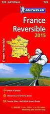 France Reversible Map 2015 (Michelin Road Atlases & Maps)