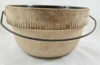 "Antique Cook Rite Stoneware 9.5"" Pottery Bowl USA"