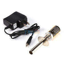 80101 Pro Glow Plug Igniter Starter For HSP Nitro RC Car Truck Plane W/ Charger