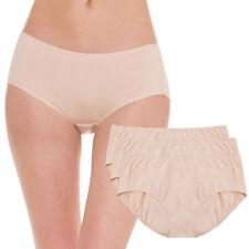 3pk Hesta Plus Size 4X Organic Cotton Menstrual Sanitary No Leak Panty Underwear