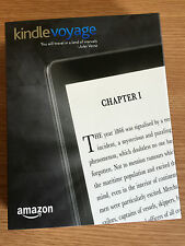 "BRAND NEW AMAZON KINDLE VOYAGE WIFI TOUCHSCREEN 6"" WIRELESS EREADER NOW IN STOCK"