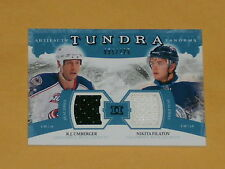 2011-12 Artifacts Tundra Tandems Dual Jersey Hockey Card Umberger/Filatov /225
