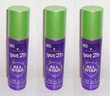 (1L=33,00€) 3x Got2b All Star 10-in-1 Styling Treatment, 3x100ml