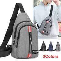 Anti-theft Men's Sling Bag Chest Crossbody Adjustable Shoulder Chest Pack New