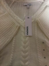 Women's Sonoma Long Sleeve Sweater Pristine knit Size XL NEW