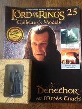 Eaglemoss. Lord Of The Rings Collectors Figure And Magazine. Denethor.