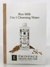 Eminence Rice Milk 3 in 1 Cleansing Water Sample Size