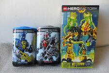 LEGO HERO FACTORY 7148 Meltdown 7168 Bulk ,7169 Surge NEU & OVP