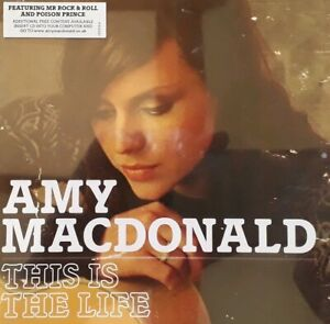 Amy MacDonald-This Is The Life CD.2007 Melodramatic 1712124.Poison Prince/Run+
