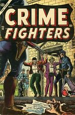 Crime Fighters #12 Comic Book VG+ 4.5 Atlas 1954