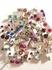 200 Pairs Of Studs Earrings Wholesale Lot