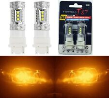 LED Light 80W 3156 Amber Orange Two Bulbs Back Up Reverse Replacement Upgrade