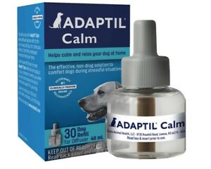 Adaptil Dog Calming Diffuser Refill 48 ml Barking Chewing Separation Anxiety Vet
