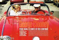 Coupure de Presse Clipping 1997 (6 pages) George Clooney et Céline Balitran