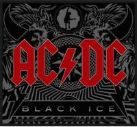 AC/DC Black Ice Woven Patch Sew On Official Licensed Band Merch Brand New Angus