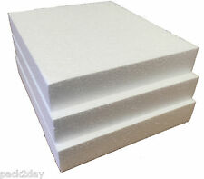 POLYSTYRENE PADS/SHEETS SD GRADE 240 x 200 x 35mm  Pk of 4 sheets