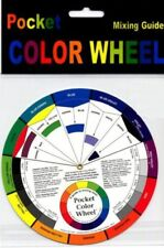 Portable Color Wheel Mixing Guide für Tattoo Makeup Malerei Mod Hobby Verso H0Q7