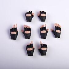 VStoys 1/6 PHICEN/TBleague Gloves Hand Black Grip Gun Hand Model Suntan Skin